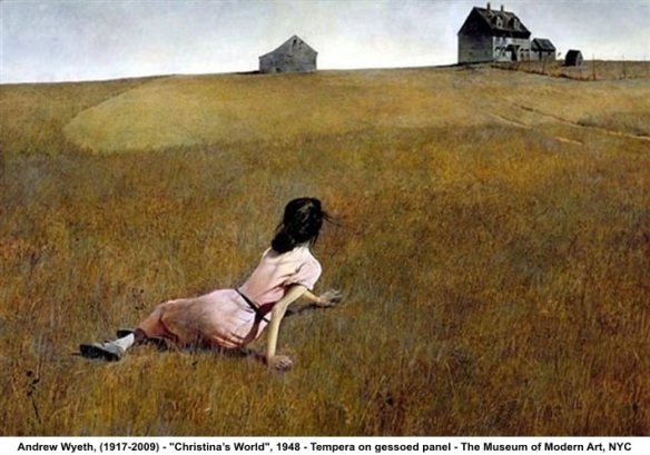 Andrew Wyeth's , Christina's World